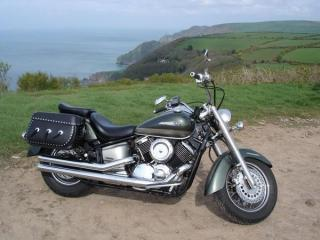 Micha's XVS1100a in Exmoor